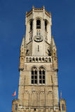 Belfry Tower Bruges Stock Image