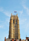 Belfry tower in Dunkerque Royalty Free Stock Photo