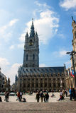 Belfry tower in Gent Stock Photo