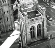 Belfry view Stock Images