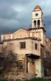 Belfry in a village in Southern Greece Stock Image