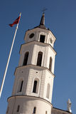 Belfry of Vilnius Cathedral Royalty Free Stock Image