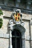 Belfry von Mons, Belgien lizenzfreies stockbild