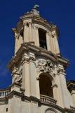 Belfry von Santa Agnese in Agone Stockfotografie