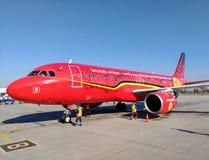` Belga di Trident del ` dell'aereo di linea aerea, aeroporto di Borispil fotografie stock