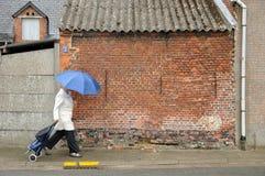 Belgare Streetview Fotografering för Bildbyråer