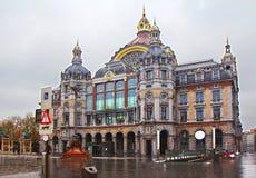 belgië Antwerpen Centrale post Koln, Duitsland in 2013/05 Stock Foto's