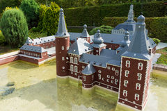 belgië Brussel 27 September 2014 Mini Europe op 27 september, Royalty-vrije Stock Afbeelding
