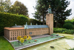 belgië Brussel 27 September 2014 Mini Europe op 27 september, Royalty-vrije Stock Fotografie