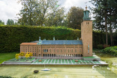 België Brussel 27 September 2014 Mini Europe op 27 september, Royalty-vrije Stock Afbeeldingen