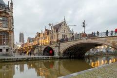 belgië gent royalty-vrije stock afbeelding