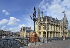 België, Gent stock foto's