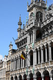 België, schilderachtig Grand Place van Brussel Royalty-vrije Stock Fotografie
