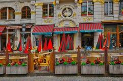 België, schilderachtig Grand Place van Brussel Royalty-vrije Stock Afbeelding