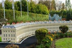 Belgia Brussel 27 2014 Wrzesień Mini Europa na 27 Wrześniu, Obrazy Royalty Free