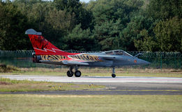 Belgia F16 samolot Fotografia Royalty Free