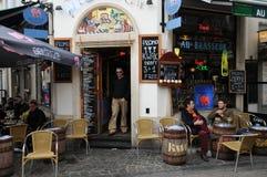 Belgia, malowniczy Sablon okręg Bruksela Obraz Royalty Free