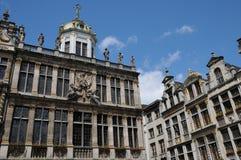 Belgia, malowniczy Uroczysty miejsce Bruksela Zdjęcia Stock
