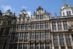Belgia, malowniczy Uroczysty miejsce Bruksela Obraz Stock