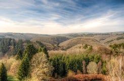 Belgia widok piękny krajobraz Obrazy Stock