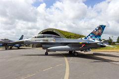 Belgian AF F-16 Royalty Free Stock Photography
