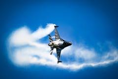 Free Belgian Air Force F-16 Viper Fighter Jet Performing At Kleine-Brogel. Belgium - September 14, 2019 Royalty Free Stock Image - 210688256