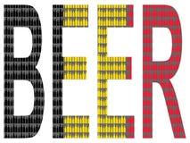 Belgian beer Royalty Free Stock Image