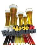Belgian beer Royalty Free Stock Photo