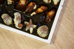 Belgian bonbons Stock Photo