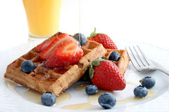 Belgian Breakfast Royalty Free Stock Images