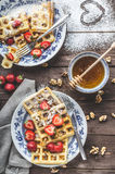 Belgian breakfast Stock Images