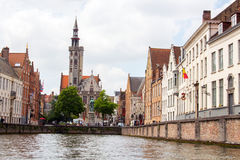 Belgian Bruges old town Royalty Free Stock Photo