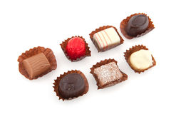 Belgian chocolate Royalty Free Stock Images