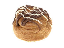 Belgian Chocolate Choux Buns Royalty Free Stock Photos