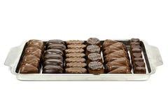 Belgian chocolate pralines Royalty Free Stock Photography
