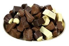 Belgian chocolate pralines Royalty Free Stock Image
