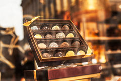 Belgian chocolate Stock Photography