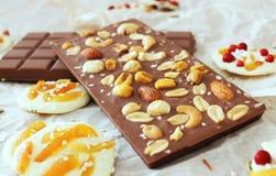 Belgian chocolate. stock image
