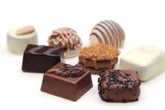 Belgian chocolates Royalty Free Stock Photos