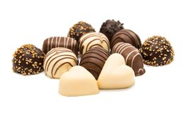 Belgian chocolates stock photography