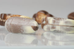 Belgian chocolates. Stock Photos