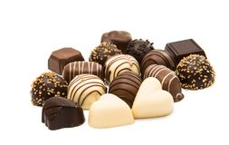 Belgian chocolates royalty free stock photos