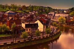 Belgian City of La Roche Royalty Free Stock Photo