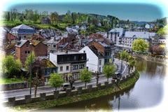 Belgian City of La Roche Royalty Free Stock Photography