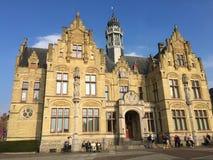 Belgian city of Ypres - royalty free stock photo