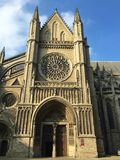 Belgian city of Ypres - St Martin`s Cathedral royalty free stock photos