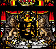 Belgian coat of arms Royalty Free Stock Photos
