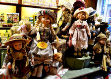 Belgian dolls for sale Royalty Free Stock Image