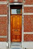 Belgian Door Royalty Free Stock Photo