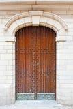 Belgian Door Stock Photo